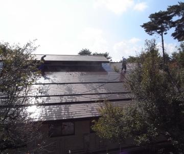 屋根・外壁(塗装)工事 施工例3