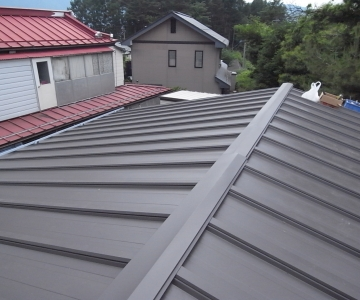 屋根・外壁(塗装)工事 施工例1